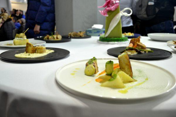 Πιάτο υψηλής γαστρονομίας από το 1ο Mediterranean Chef's Competition